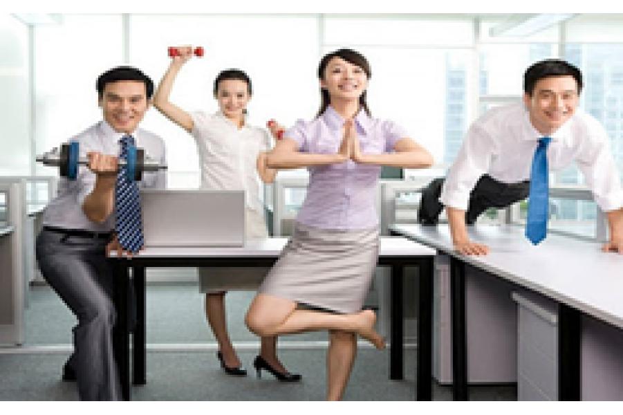 Cách để dân văn phòng ngày càng trẻ, càng khỏe, dáng càng đẹp