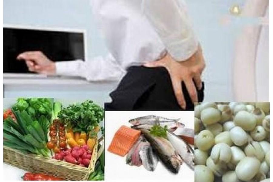 5 vitamin và khoáng chất giúp giảm đau thắt lưng