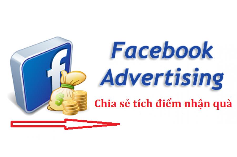 Chia sẻ Facebook tích điểm