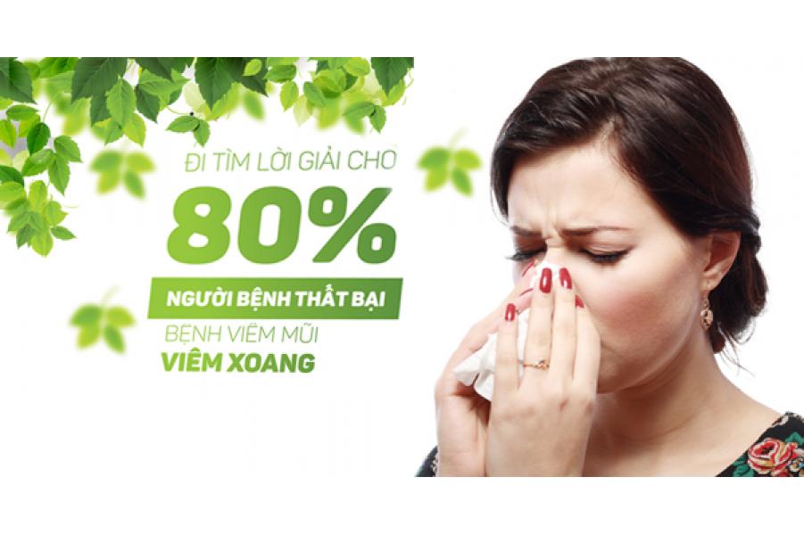 Cách chữa nghẹt mũi của Đông  Y