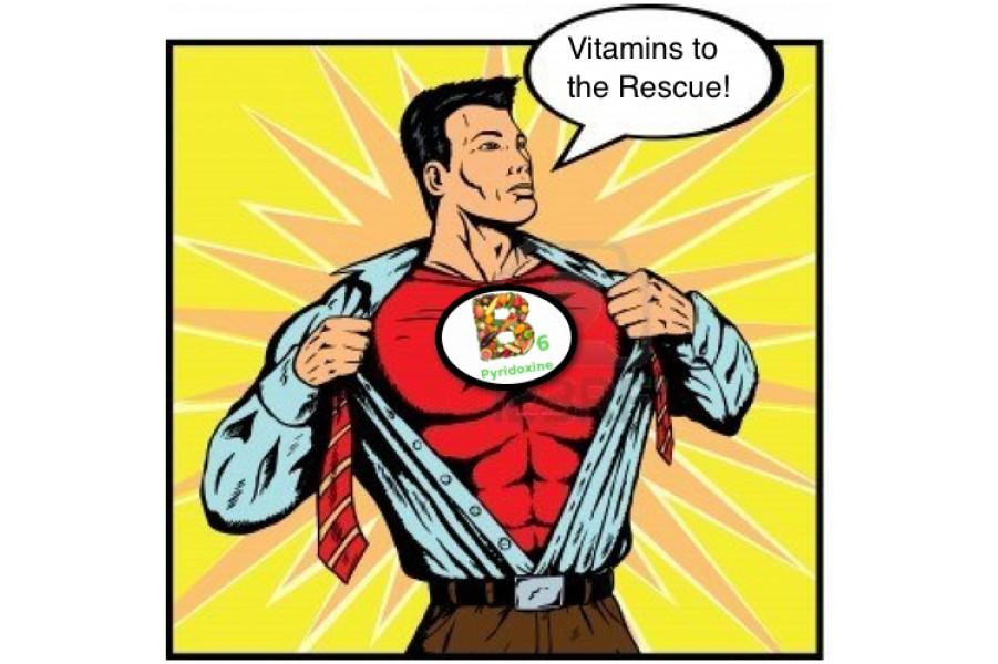 Tác dụng của vitamin B6
